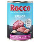 Rocco Junior 6 x 400 g pour chien
