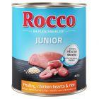 Rocco Junior 6 x 800 g pour chiot