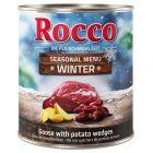 Rocco limitált kiadású téli menü - marha, libamáj & burgonya