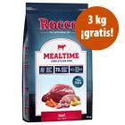 Rocco Mealtime 12 kg pienso en oferta: 9 + 3 kg ¡gratis!