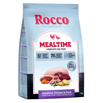 Rocco Mealtime Sensitive con pollo y pato