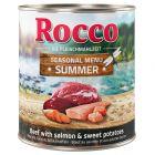 Rocco Menú de verano: vacuno y salmón con batata