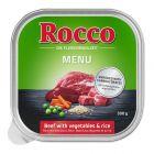 Rocco Menú en tarrinas 9 x 300 g