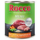 Rocco Menu 6 x 800 g pour chien