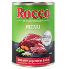 Rocco Menu 6 x 400 g pour chien