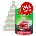 Rocco Menue -säästöpakkaus 24 x 400 g