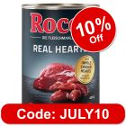 Rocco Real Hearts 6 x 400g