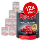 Rocco Real Hearts 12 x 800 g