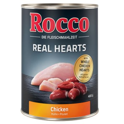 Rocco Real Hearts 24 x 400 g - Pack económico