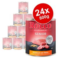 Rocco Senior Saver Pack 24 x 800g