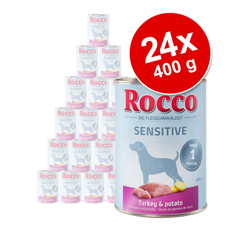 Rocco Sensitive óriáscsomag 24 x 400 g