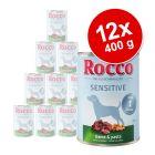 Rocco Sensitive -säästöpakkaus 12 x 400 g