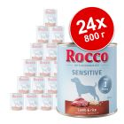 Икономична опаковка: Rocco Sensitive 24 x 800 г