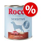 Rocco Sensitive 24 x 800 g ¡con gran descuento!