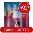 Rocco Sticks Saver Pack 3 x 120g