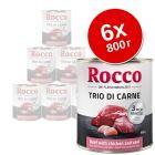 Rocco Trio di Carne, 6 x 800 г
