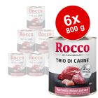 Rocco Trio di Carne - 6 x 800 g