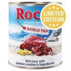 Rocco Vuelta al mundo: Austria con jabalí, pasta y arándanos rojos