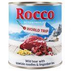 Rocco Vuelta al mundo Austria, jabalí con pasta y arándanos