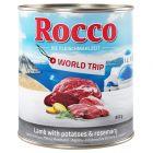 Rocco Vuelta al mundo Grecia, cordero con patatas y romero