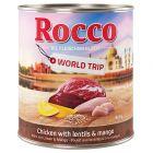 Rocco Vuelta al mundo India, pollo con lentejas y mango