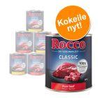 Rocco-kokeilupakkaus 6 x 800 g, monta makua
