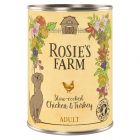 Rosie's Farm Adult, 6 x 400 g