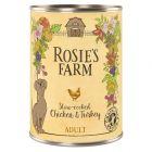 Rosie's Farm Adult Hondenvoer 6 x 400 g