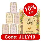 Rosie's Farm Adult Mixed Trial Packs - 6 x 400g