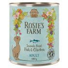 Rosie's Farm Adult, 6 x 800 g