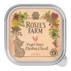 Rosie's Farm Kitten 16 x 100 g para gatos