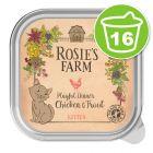 Rosie's Farm Kitten 16 x 100 g pour chaton