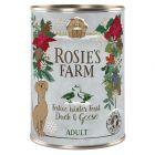 Rosie's Farm Menu d'hiver 6 x 400 g pour chien