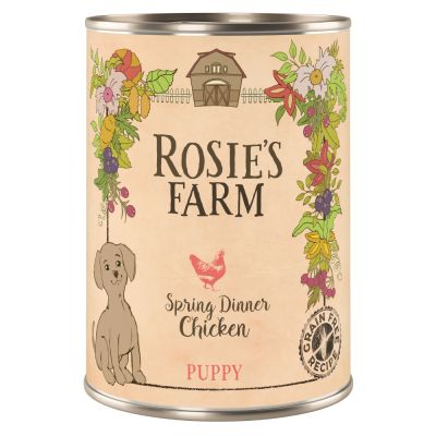 Rosie's Farm Puppy Spring Chicken Dinner