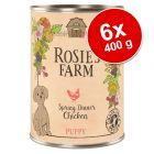 Rosie's Farm Puppy 6 x 400 g
