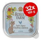 Rosie's Farm Senior säästöpakkaus 32 x 100 g