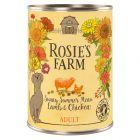 Rosie's Farm Sommer Edition Lam en Kip Hondenvoer