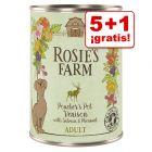 Rosie's Farm 6 x 400 g latas en oferta: 5 + 1 ¡gratis!
