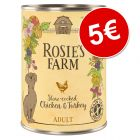 Rosie's Farm 6 x 400 g latas ¡por solo 5 €!