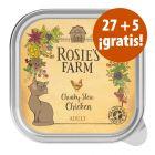 Rosie's Farm 32 x 100 g tarrinas en oferta: 27 + 5 ¡gratis!