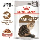Royal Canin Ageing +12 en sauce pour chat