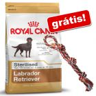 Royal Canin Breed 9 kg a 12 kg + corda Trixie colorida grátis!