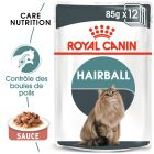 Royal Canin Hairball Care en sauce pour chat