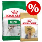 Royal Canin Size Adult + Royal Canin Breed com desconto!
