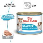 Royal Canin Starter Mousse Mother & Babydog, 12 x 195 g