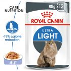 Royal Canin Ultra Light aszpikban nedvestáp
