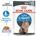 Royal Canin Ultra Light en gelée pour chat
