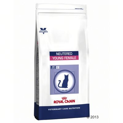 Royal Canin Vet Care Nutrition Neutered Young Female pour chat