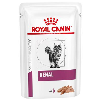 Royal Canin Veterinary Diet Renal Mousse pour chat