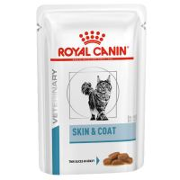 Royal Canin Adult Skin & Coat Veterinary Diet sobres para gatos